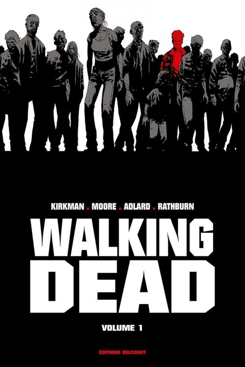 Couverture Walking dead, prestige, tome 1