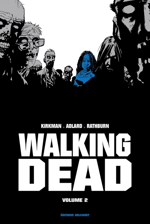 Couverture Walking dead, prestige, tome 2