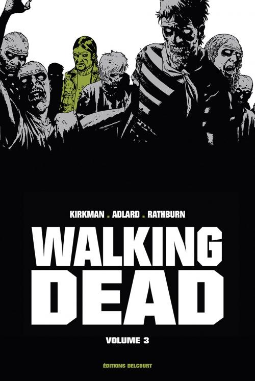 Couverture Walking dead, prestige, tome 3