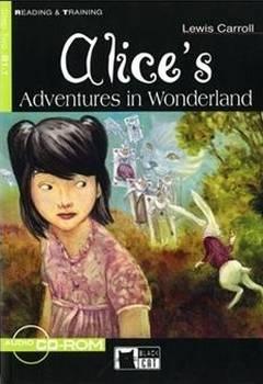 Couverture Alice's Adventures in Wonderland, abrégé