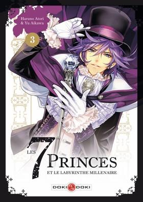 Couverture Les 7 princes et le labyrinthe millénaire, tome 3