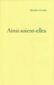 Couverture Ainsi soit-elle Editions Le Grand Livre du Mois 1977