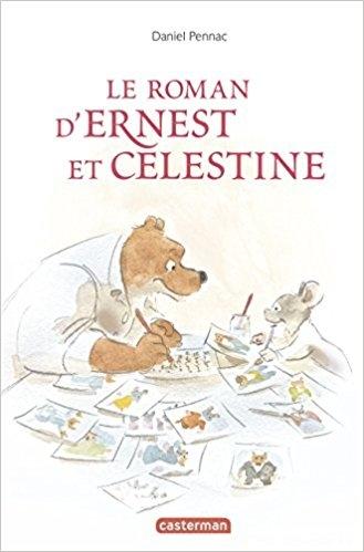 Couverture Le roman d'Ernest et Célestine
