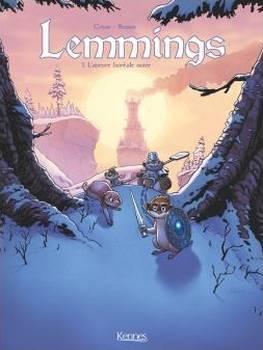 Couverture Lemmings, tome 1 : L'aurore boréale noire