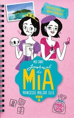 Couverture Journal de Mia, princesse malgré elle (doubles), tome 4 : Petite fête et gros tracas, De l'orage dans l'air