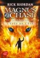 Couverture Magnus Chase et les Dieux d'Asgard, tome 1 : L'Épée de l'été Editions Le Livre de Poche (Jeunesse) 2017