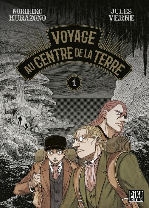 Couverture Voyage au centre de la terre (manga), tome 1