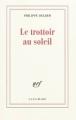 Couverture Le trottoir au soleil Editions Gallimard  2012