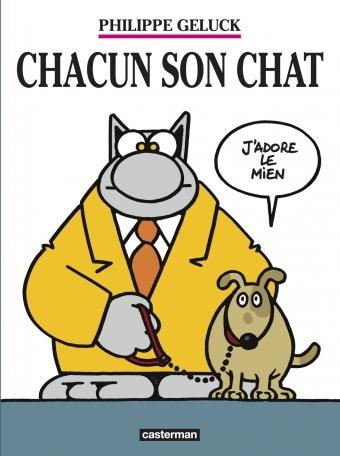 Couverture Le Chat, tome 21 : Chacun son chat