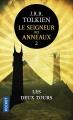 Couverture Le seigneur des anneaux, tome 2 : Les deux tours Editions Pocket 2017