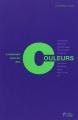Couverture L'étonnant pouvoir des couleurs Editions du Palio 2014