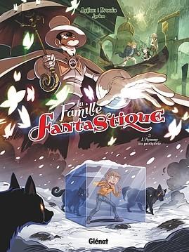 Couverture La famille fantastique, tome 3 : L'homme au parapluie