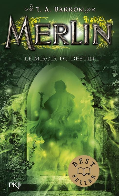 Couverture Merlin, cycle 1, tome 4 : Le miroir du destin