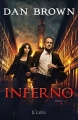 Couverture Robert Langdon, tome 4 : Inferno Editions JC Lattès 2013