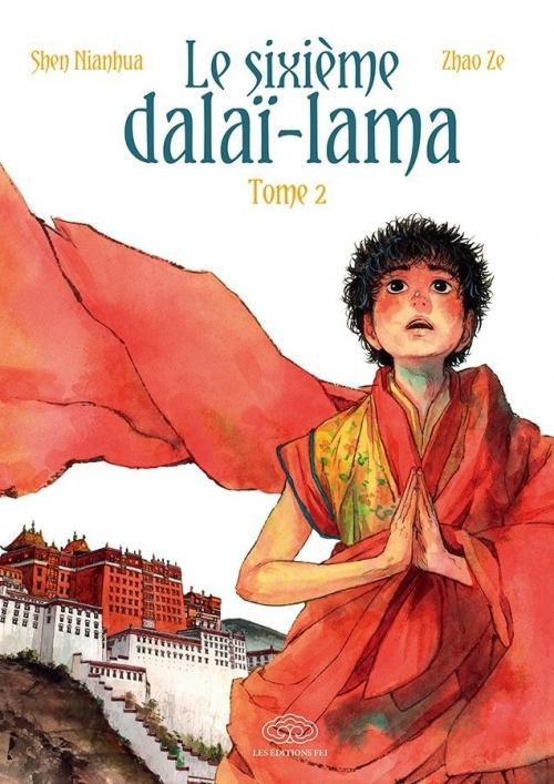 Couverture Le sixième Dalaï-Lama, tome 2