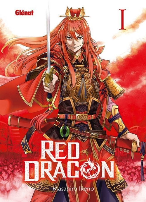 Couverture Red dragon, tome 1