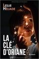 Couverture La clé d'Oriane Editions Autoédité 2017