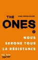 Couverture The ones, tome 2 Editions Hugo & cie (New way) 2017