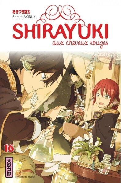 Couverture Shirayuki aux cheveux rouges, tome 16