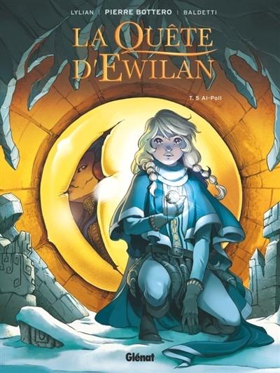 Couverture La quête d'Ewilan (BD), tome 5 : Al-Poll