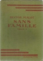 Couverture Sans famille Editions Hachette 1933