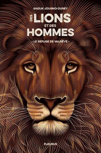 Couverture Des lions et des hommes, tome 1 : Le refuge de Valrêve