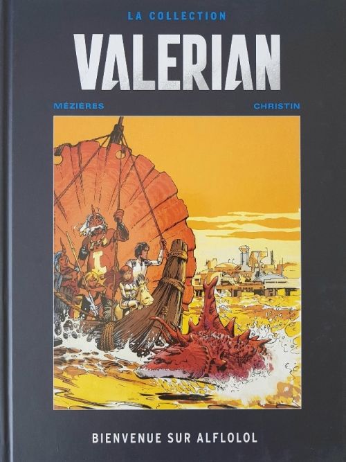 Couverture Valérian, Agent Spatio-temporel, tome 04 : Bienvenue sur Alflolol