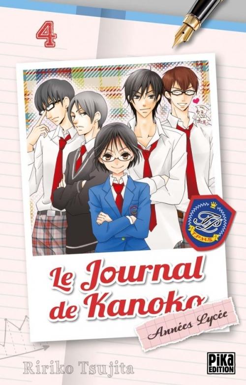 Couverture Le journal de Kanoko : Années lycées, tome 04