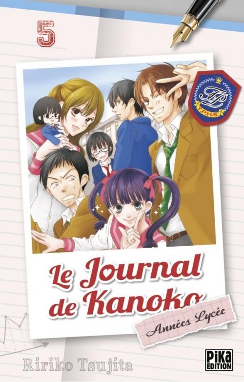 Couverture Le journal de Kanoko : Années lycées, tome 05
