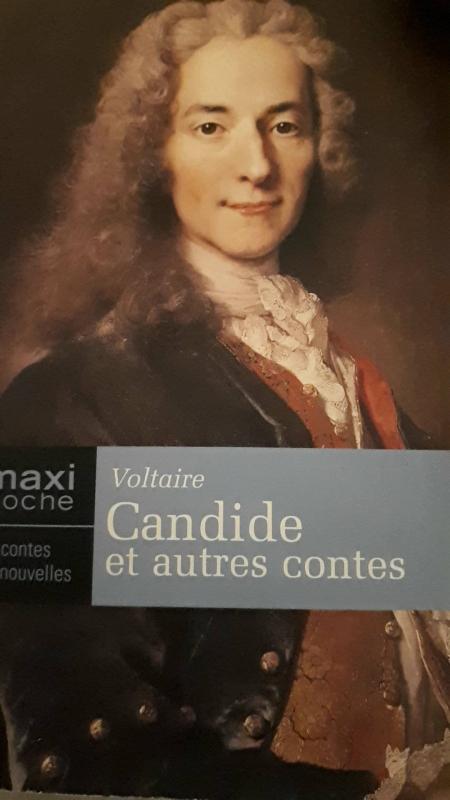 Couverture Candide et autres contes