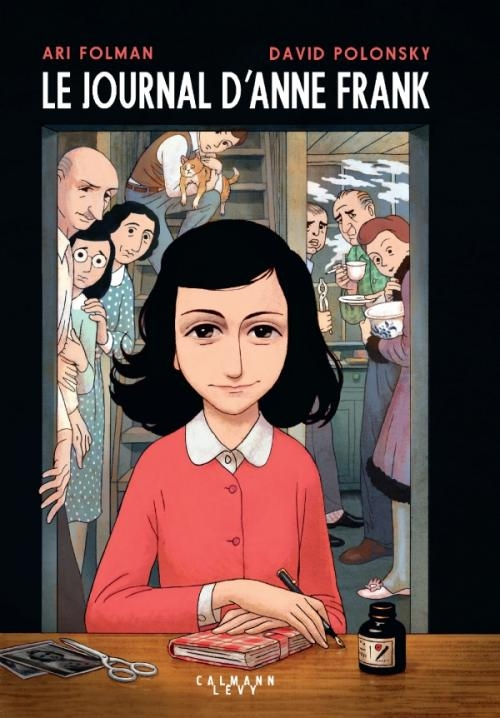 Couverture Le journal d'Anne Frank (BD)
