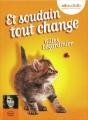 Couverture Et soudain tout change Editions Audiolib 2015
