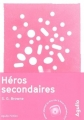 Couverture Héros secondaires Editions Agullo (Fiction) 2017