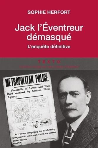 Couverture Jack l'éventreur démasqué : L'enquête définitive