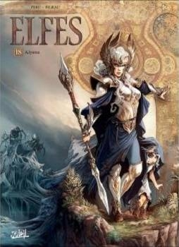 Couverture Elfes, tome 18 : Alyana