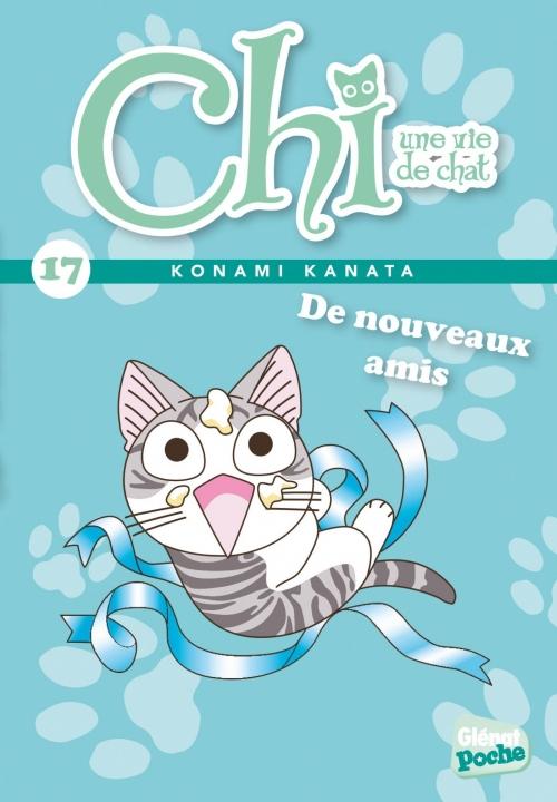 Couverture Chi, une vie de chat, tome 17 : De nouveaux amis !