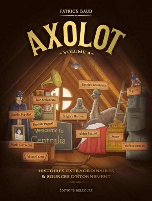 Couverture Axolot, tome 4