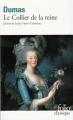 Couverture Le collier de la Reine Editions Folio  (Classique) 2009