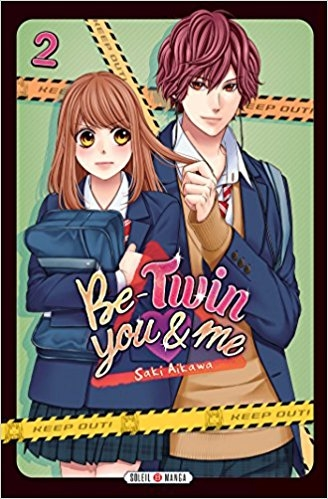 Couverture Be-twin you & me, tome 2