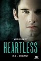 Couverture Heartless, tome 2.5 : Vacant Editions Milady (New Adult) 2017