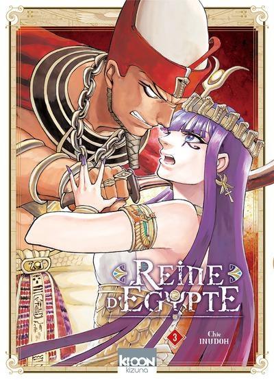 Couverture Reine d'Egypte, tome 3