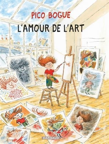 Couverture Pico Bogue, tome 10 : L'amour de l'art