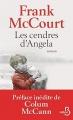 Couverture Une enfance irlandaise, tome 1 : Les Cendres d'Angela Editions Belfond 2017