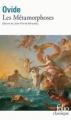 Couverture Les métamorphoses Editions Folio  (Classique) 1992