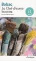 Couverture Le chef-d'oeuvre inconnu Editions Folio  (Classique) 2015