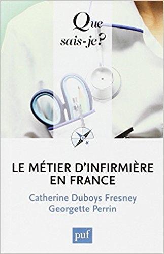 Couverture Le métier d'infirmière en France