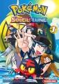 Couverture Pokémon : Soleil et lune, tome 1 Editions Kurokawa 2017