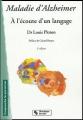 Couverture Maladie d'alzheimer Editions Chronique Sociale 2009