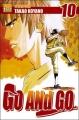Couverture Go and go, tome 10 Editions Taifu comics (Shônen) 2005