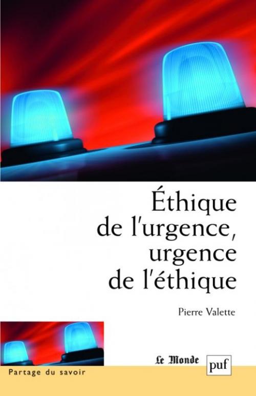 Couverture Éthique de l'urgence, urgence de l'éthique